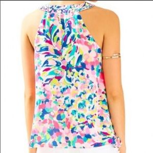 777170ff9ccc2b Lilly Pulitzer Tops - Lily Pulitzer Achelle Sleeveless Top Pina Colada